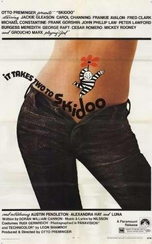 skidooposterrw Otto Preminger   Skidoo (1968)