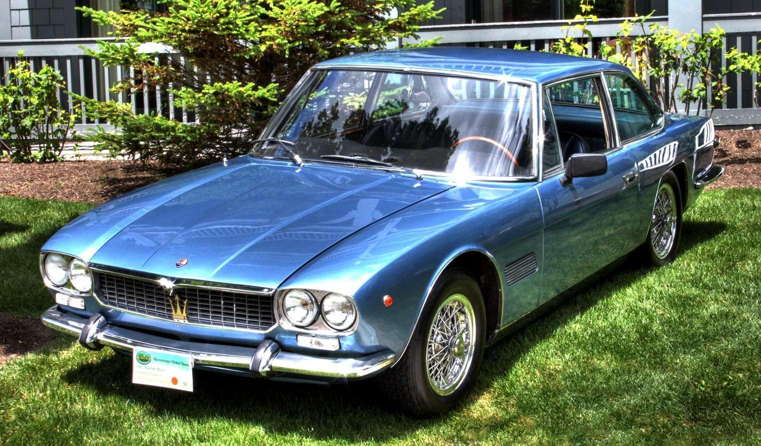 Special cars: Maserati Mexico