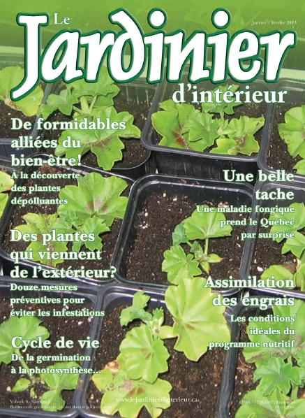 Le Jardinier D'Interieur - Janvier Fevrier 2013