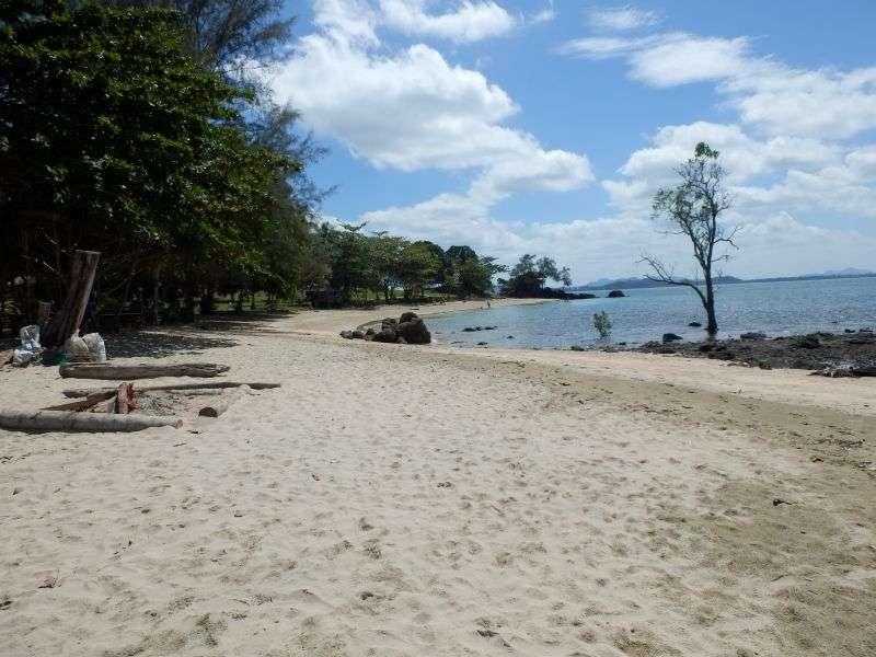 Strand beim Freedom Hut