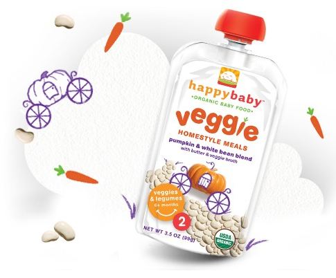 Happy Baby organic baby food on Cool Mom Picks