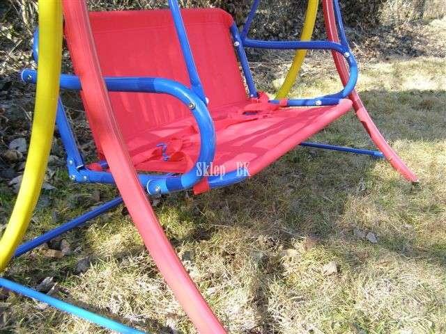 Hustawka Ogrodowa Metalowa Allegro : Huśtawka ogrodowa dla dzieci 2 os WYPRZEDAŻ  4198495502  oficjalne