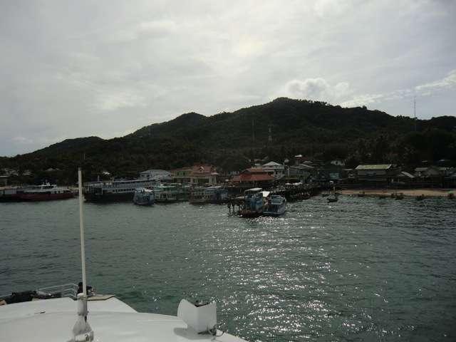 """der """"Lomprayah-Pier"""" von Koh Tao"""